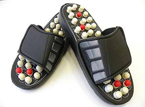 Eagle iRoot Creative Massage Accupressure Foot SlipperPowerful Reflexology Sandals  Massage Slippers Acupressure Foot Massager Foot Massager Reflex Massage Sandal These Reflexology Sandals Counts With Nodules That Apply Pressure on Specific Points on Your Feet to Provide a Great Massage While Relaxing You T ** You can get additional details at the image link.
