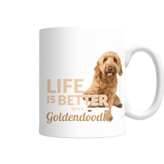 Life with Goldendoodles Mug Free Shipping on all orders! #goldendoodle