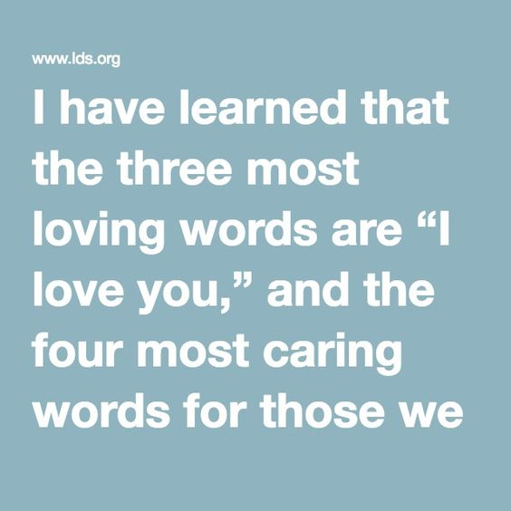 love you words cas gen...