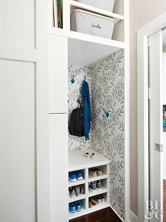 7 Entryway Closet Ideas To Steal For Your Own Home Entryway Closet Coat Closet Organization Front Hall Closet