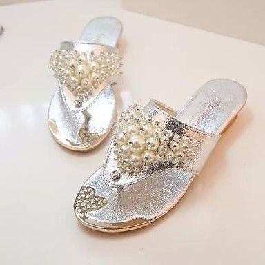 shimandi ® saltos lisos em pele das mulheres flip sapatos sandálias do falhanço (mais cores) – BRL R$ 50,23
