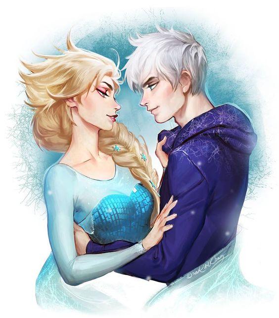 Elsa & Jack Frost