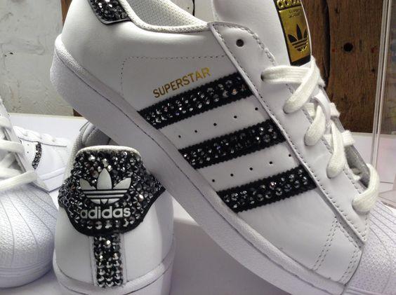 Strass Stan Paillette Adidas stan Smith Femme nk80OwP