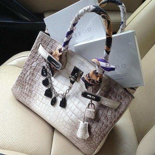 hermes handbags outlet - Loving Hermes Birkin handbag in snake print. #hermes #birkin ...