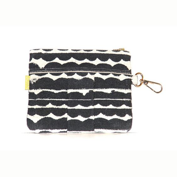 Black Clouds Zipper Pouch