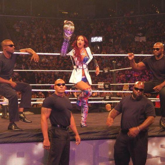 She's a #LegitBoss !! #SashaBanks #WWENXT #NXT #NXTTakeOver #NXTBrooklyn #WWE #WWENetwork #WWEUniverse #BankOnIt