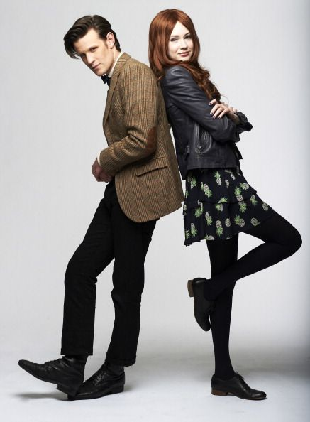 Amy Pond And The Doctor Poster