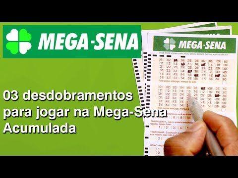 Mega Sena 03 Desdobramentos De 15 Dezenas Para 19 Jogos Cada Youtube Mega Sena Jogos Para Ganhar Dinheiro Jogos