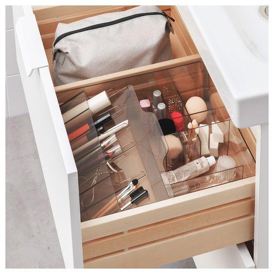 GODMORGON box with compartments - IKEA