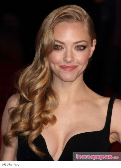 Remarkable Side Swept Side Swept Curls And Amanda Seyfried On Pinterest Short Hairstyles Gunalazisus