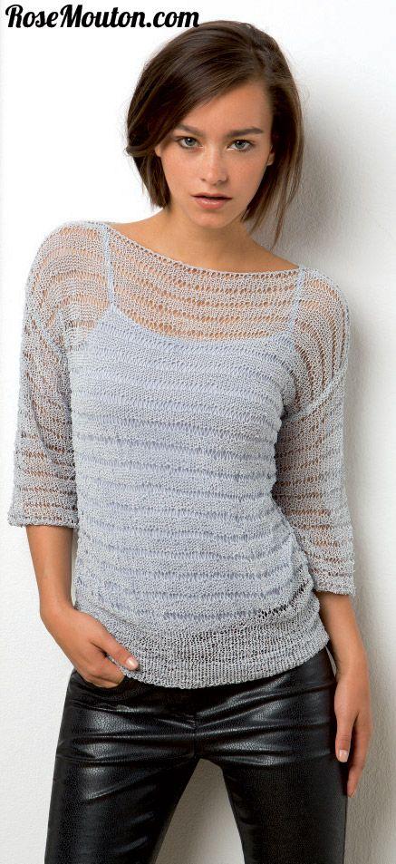 Modèle de veste en laine Mille Colori de Lang Yarns 201.17