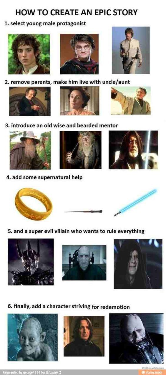 Story Telling Storytelling Star Wars Blagues Blagues Happy Potter Parodie Harry Potter