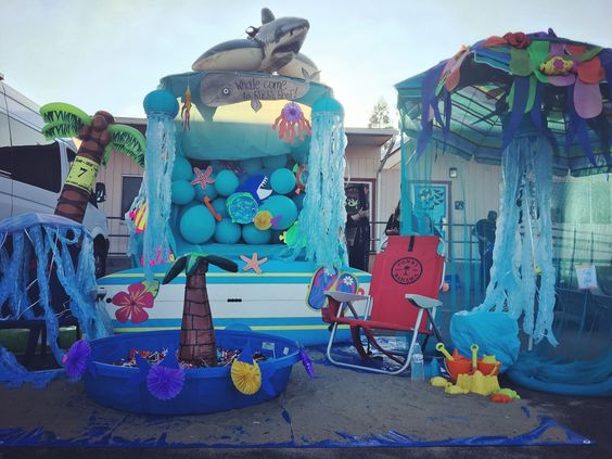 Trunk Or Treat Under The Sea Theme Trunk Or Treat Pinterest Trunk Or Treat Trunks And