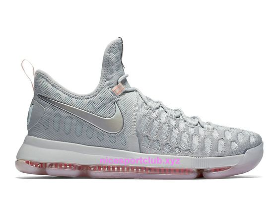 homme chaussures basketball nike kd 9 pre heat prix pas cher gris 843396090 nice sport club boutique