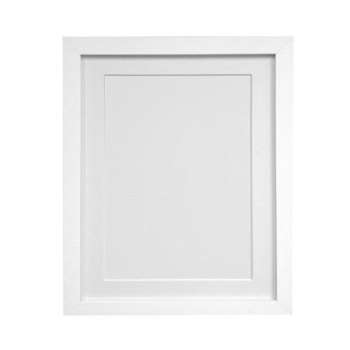 H7 Picture Frame With White Mount Frames By Post Size 8 X 10 In 11 X 14 Mount Colour White Picture Frames White Picture Frames Photo Frame