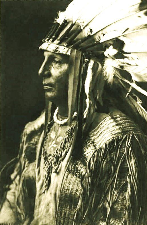 The color of the skin makes no difference. What is good and just for one is good and just for the other, and the Great Spirit made all men brothers. I have a red skin, but my grandfather was a white man. What does it matter? It is not the color of my skin that makes me good or bad.  ~~Chief WHITE SHIELD~~: