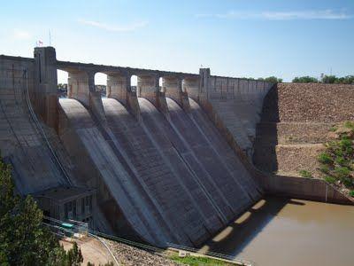 Conchas Lake State Park #dam