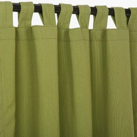 Door Curtains all weather outdoor curtains : High-performance all-weather Sunbrella fabric. Love this color for ...