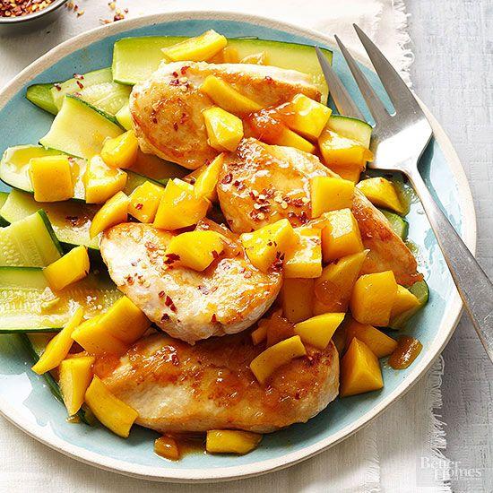 Thai Mango Chicken Curry Recipe Mango Chicken Mango Chicken Curry Cooking Jasmine Rice