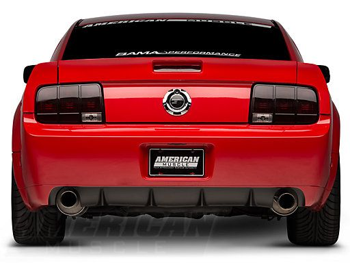 Mustang Gt500 Cs Rear Bumper Cover W Diffuser Unpainted 05 09 All Free Shipping Mustang Gt500 Gt500 Shelby Gt500