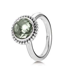 Pandora MOA - Autumn Skies Green Amethyst Ring, $95.00 (http://www.pandoramoa.com/autumn-skies-green-amethyst-ring/)