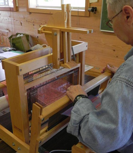 Beginning Table Loom Weaving At Sievers With Nancy Frantz
