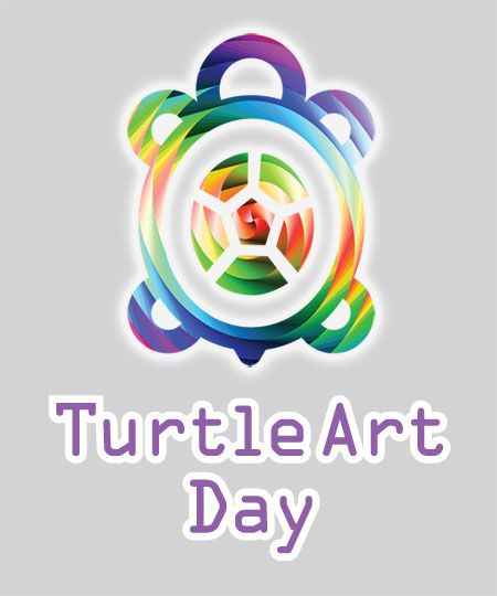 how come we never had turtle art day here ?