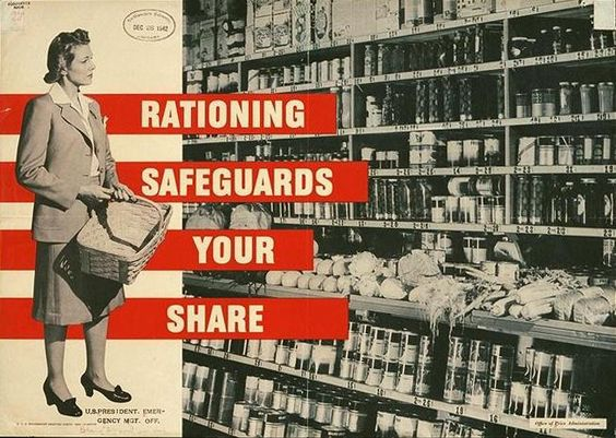 Rationing Safeguards Your Share  US Office of Price Administration  1942
