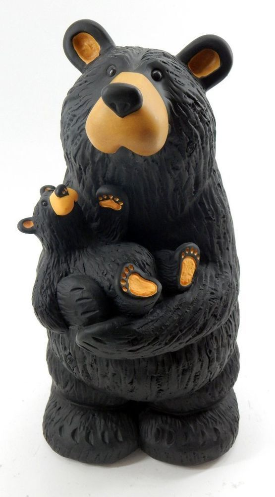 Big Sky Carvers Bearfoots Black Bear Grand Bearfoots Bear Jenny by Jeff Fleming