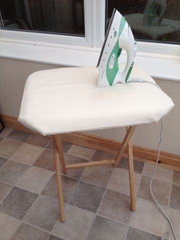 Ironing table for piecing patchwork