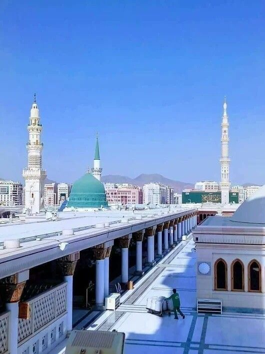 Madinah Almunawwarah Medina Mosque Beautiful Mosques Islam