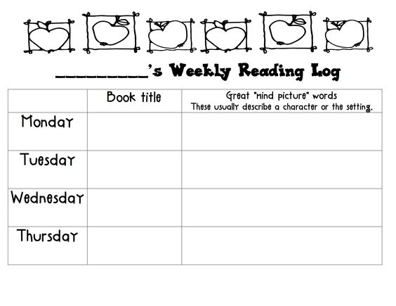 Home Reading Log/Visualizing