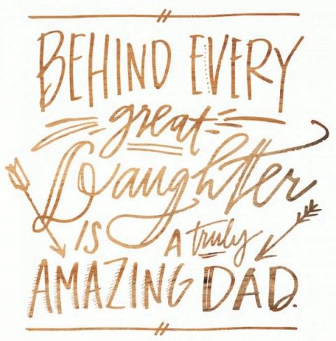 28 Cute & Short Father Daughter Quotes with Images: