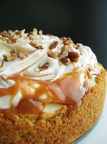 caramel apple pie...