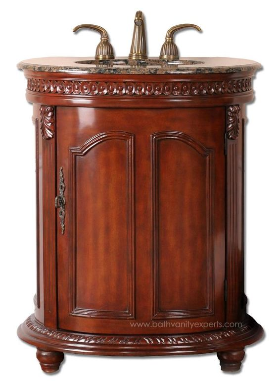 Lossander (single) 30-Inch Traditional Bathroom Vanity With Top Choice