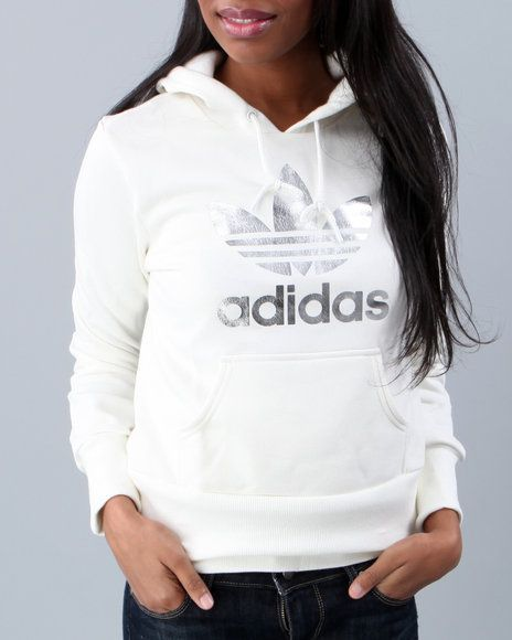 Adidas Women Trefoil Pullover Hoodie - Hoodies | Fitness ...
