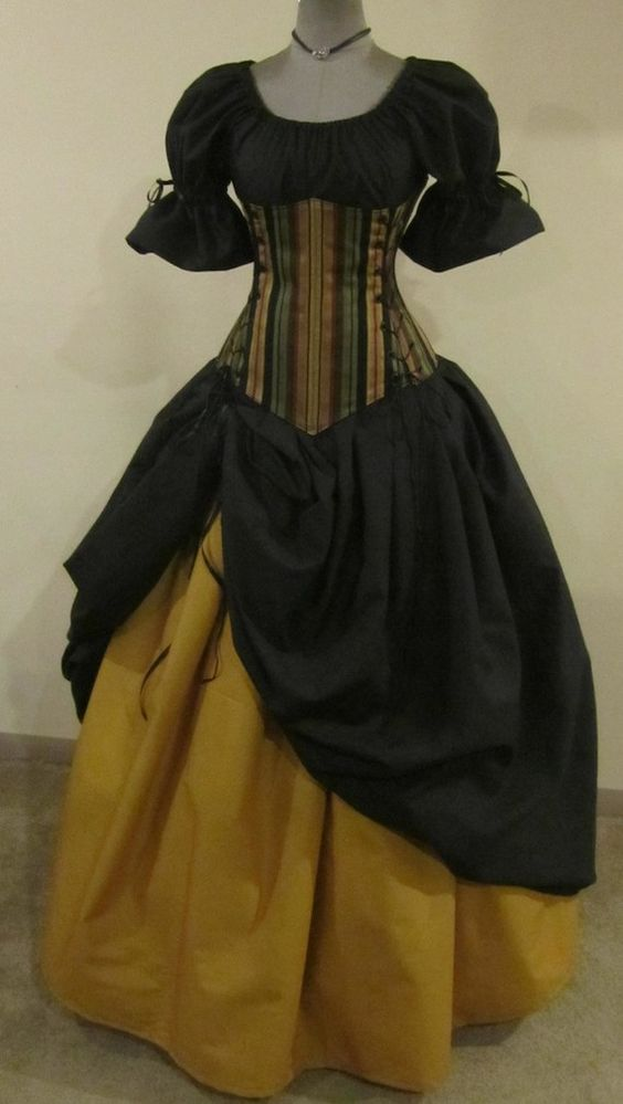 Is it also weird that I love period dresses such as this?