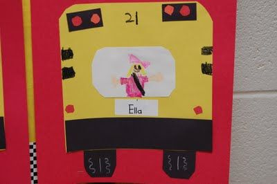 How adorable are these back to school buses?