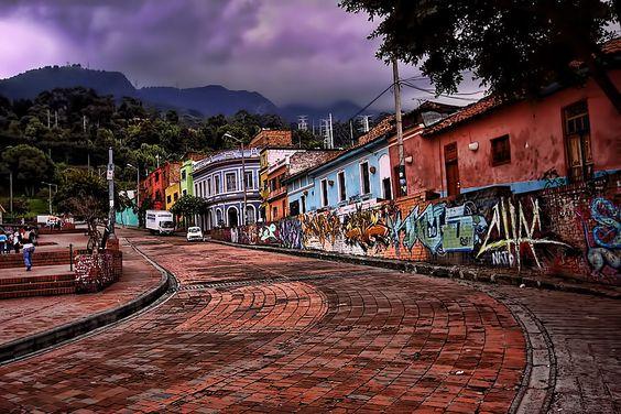 Bogota' Stadtviertel von Picador