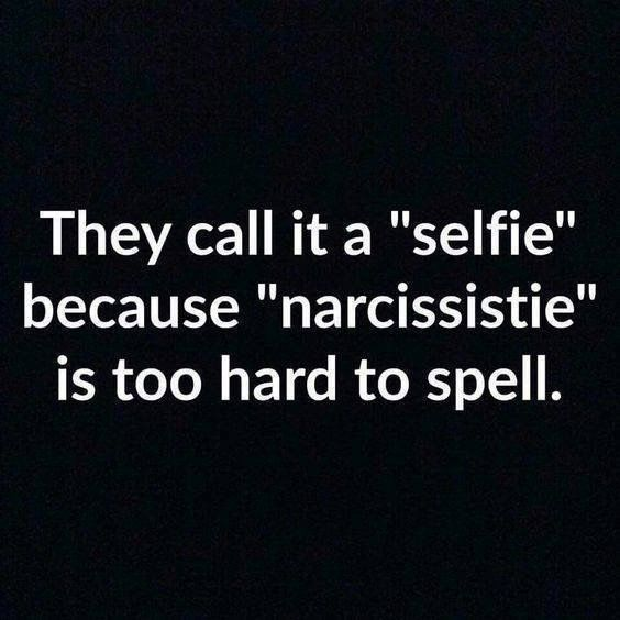 """Seriously, how many times do you need to beg social media for a desperate complement about """"oh how beautiful you are."""" It's sad. Love yourself, not your selflie likes."""