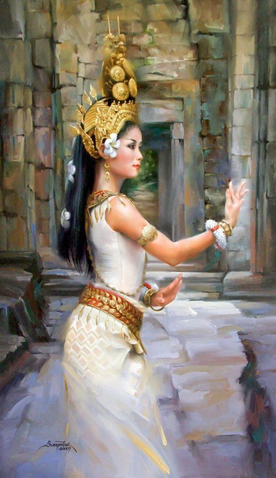 Bali. Beautiful Paintings by Artist Joyce Birkenstock