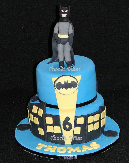 Thomas' Batman cake | Flickr - Photo Sharing!