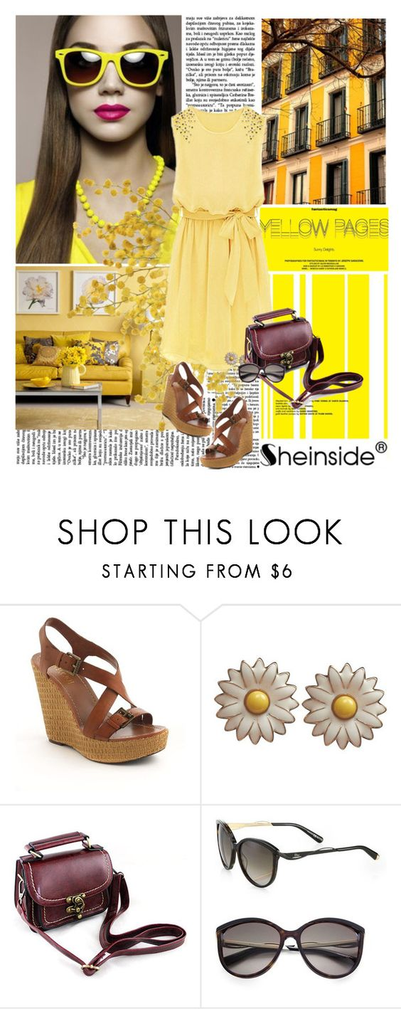 """Sheinside"" by younica ❤ liked on Polyvore featuring Cole Haan, Diane Von Furstenberg, Lauren Ralph Lauren, Wet Seal, Christian Dior and Sheinside"