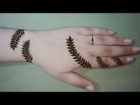 نقش الحناء خفيف Henna Inscription Is Light Youtube Tattoos