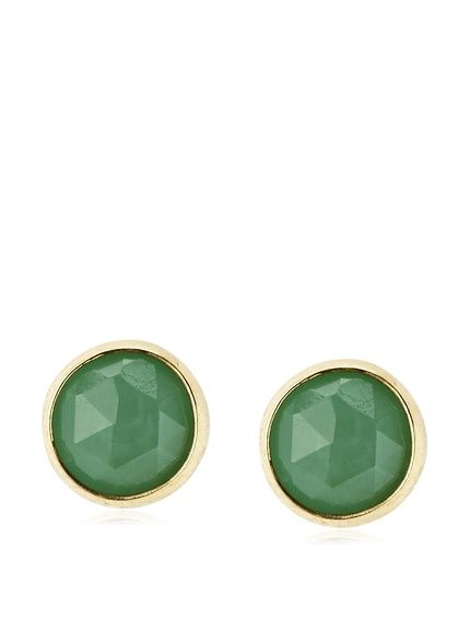 Heather Hawkins Faceted Chrysoprase Stud Earrings, http://www.myhabit.com/redirect/ref=qd_sw_dp_pi_li?url=http%3A%2F%2Fwww.myhabit.com%2Fdp%2FB00H71X11K