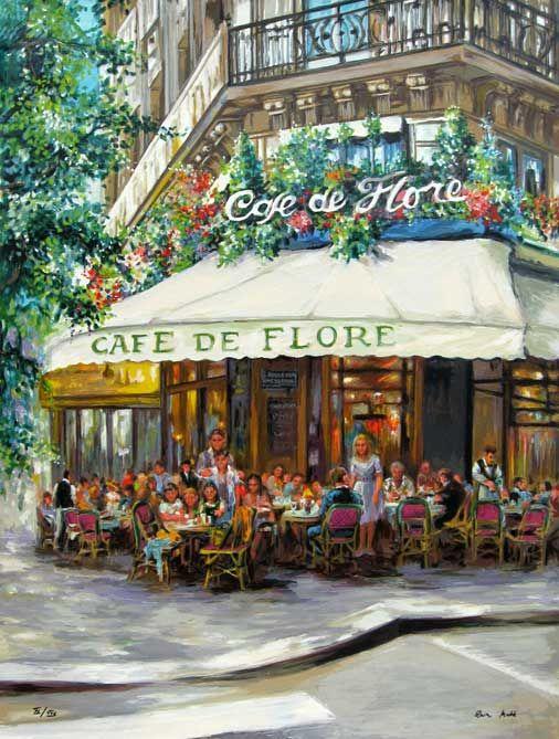 """Cafe de Flore"" by Eva Makk"