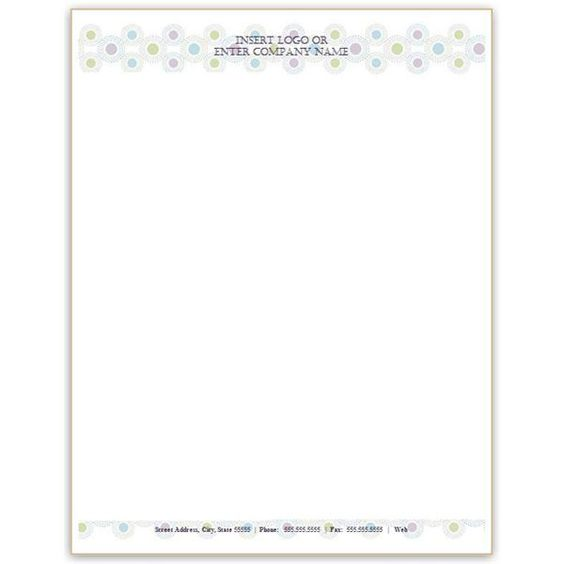 letterhead template word business Home Design Idea Pinterest - free personal letterhead templates word