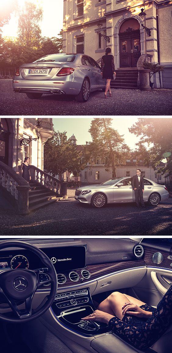Pure luxury: The Mercedes-Benz E-Class. Photos by Florian Haizmann #MBsocialcar