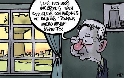 Los residuos nucleares...