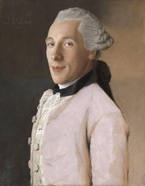 Joachim Rendorp. Jean-Etienne Liotard, 1757.